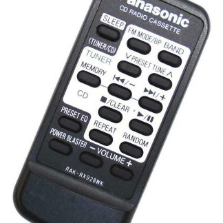 Genuine Panasonic RAK-RX928WK RX-DS27 RX-DT39 Audio Remote