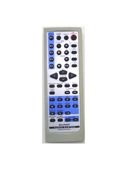 Genuine Sharp RRMCGA042AWSA CD-SW200 Audio System Remote CD-SW200E CD-SW200H