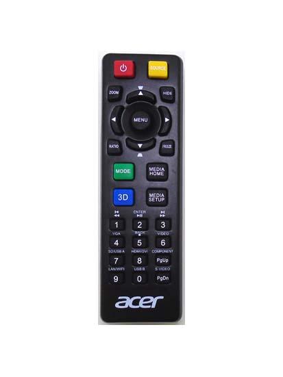 Genuine Acer RC-FB02-520 X112H X122 Projector Remote X152H P1223 EV-833H...