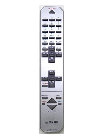 Genuine Yamaha GX-505-V524840 GX-505 Stereo System Remote