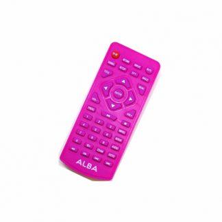 Genuine Alba CDVD7SWP CDVD7SW Pink Portable DVD Player Remote