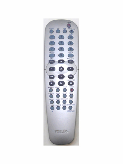 Genuine Philips RC19245014/01 DVD755VR DVD VCR Combi Remote